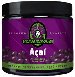 Organic Freeze Dried Acai Powder