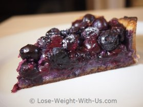 Low Carb Blueberry Pie Recipe