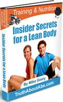 Free ebook: Insider Secrets for a Lean Body
