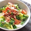 Avocado Salad with Bacon and Tomatoes