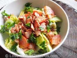 Quick Avocado Salad Recipe