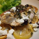 Baked Chicken with Feta and Lemon