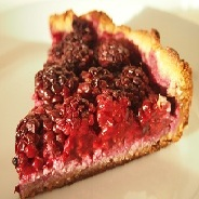 Low Carb Blackberry Pie