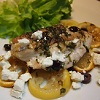 Baked Chicken Breast With Lemon and Feta Cheese