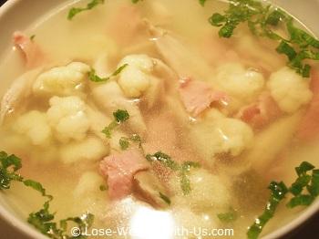 Chicken Cauliflower Soup Recipe