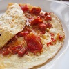 Chorizo and Sun Dried Tomato Omelette