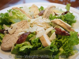 Easy Chicken Caesar Salad Recipe