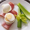 Boiled Eggs, Ham and Celery