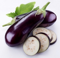 Calories in Eggplant or Aubergine