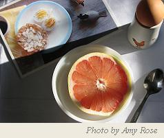Egg and Grapefruit Diet Menu, Egg Grapefruit Diet