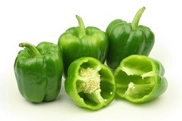 Calories in Green Peppers