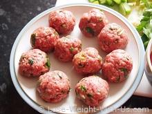 Italian Meatballs Ready to Cook