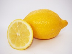 Calories in a Lemon, Lemon Juice and Lemon Peel