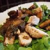 Easy Pork and Mushroom Salad
