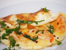 Seafood Omelette Recipe