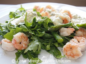 Shrimp and Asparagus Salad Recipe