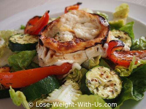 Warm Goat's Cheese Salad