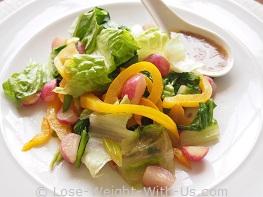 Warm Radish Salad