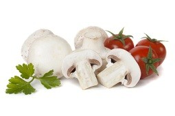 Calories in White Mushrooms