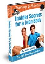 Free ebook: Insider Secrets for a Lean Body