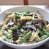 Asparagus Pasta Salad With Mushroom