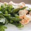 Asparagus and Prawn Salad
