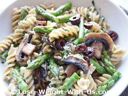 Asparagus Pasta Salad Recipe
