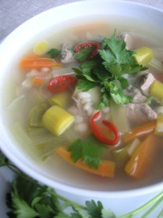 Homemade Vegetable Beef Barley Soup Recipe