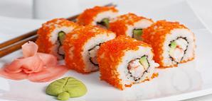 Calories in California Roll Sushi, Sushi Calories