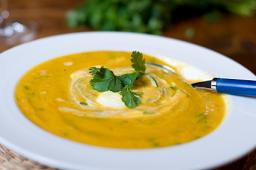 Curried Carrot Soup With Ginger