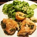 Baked Chicken Thighs with Lemon and Basil