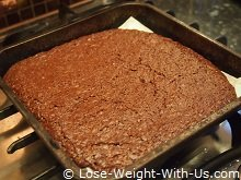 Chocolate Brownies Cooked from the Oven