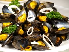 Calories in Mussels, Mussel Calories, Mussel Nutrition Facts
