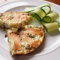 Smoked Salmon Frittata:  320 kcal