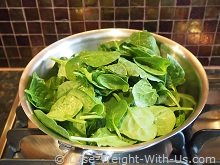 Spinach Ready for Steaming