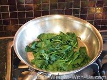 Spinach Steamed