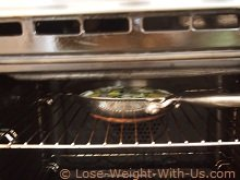 Grilling the Frittata